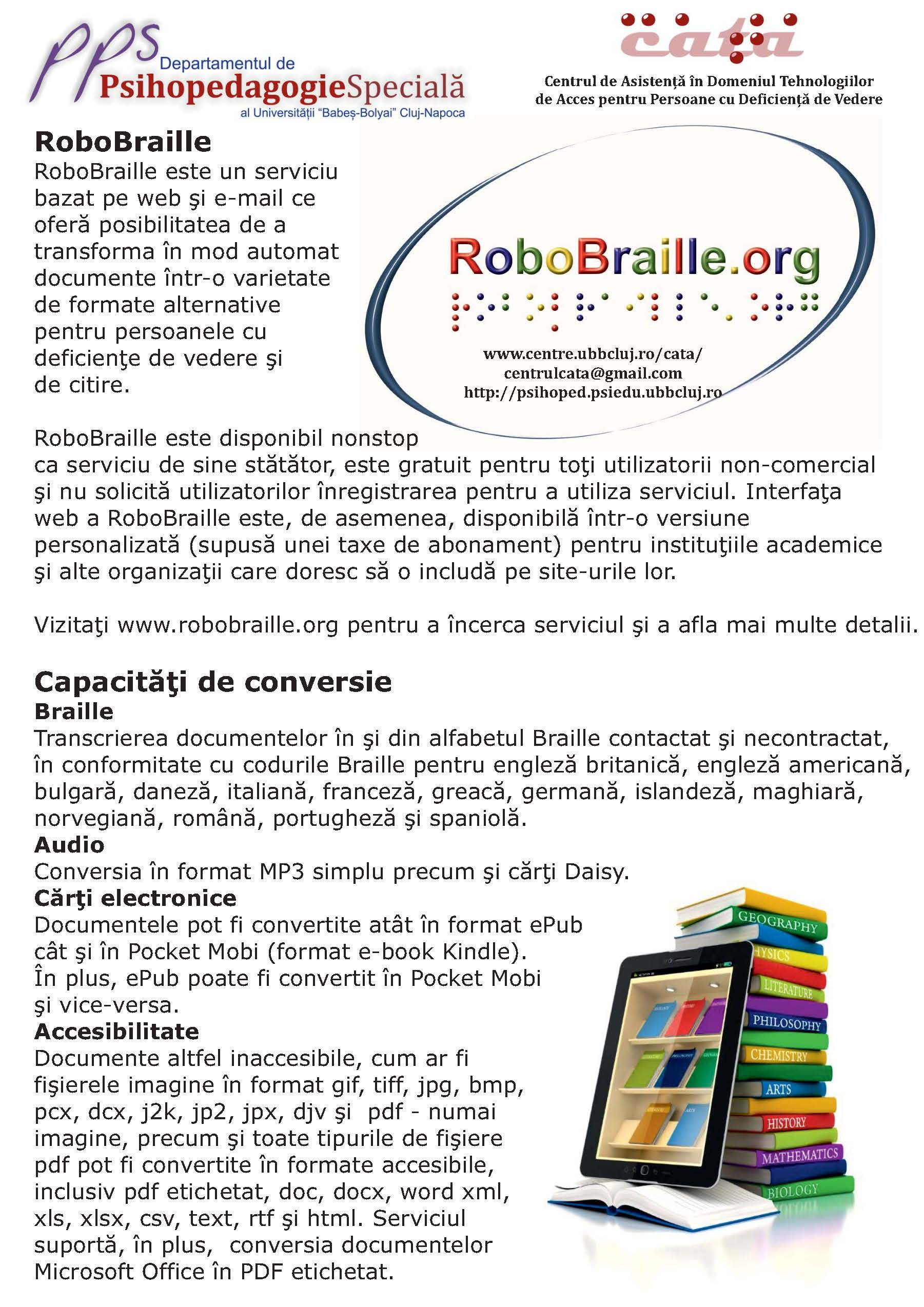 afis RoboBraille