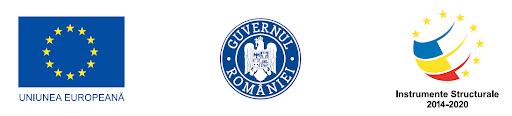 logo Uniunea Europeana, Guvernul Romaniei, Instrumente structurale 2014-2020